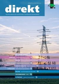 Das Cover der Verbandszeitschrift «DIREKT»